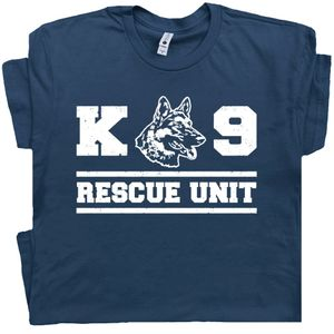K9 Dog T Shirt K9 Rescue Unit Graphic Tee