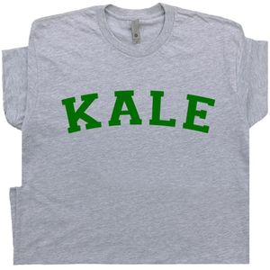 Kale T Shirt Vegetarian Kale University Tee