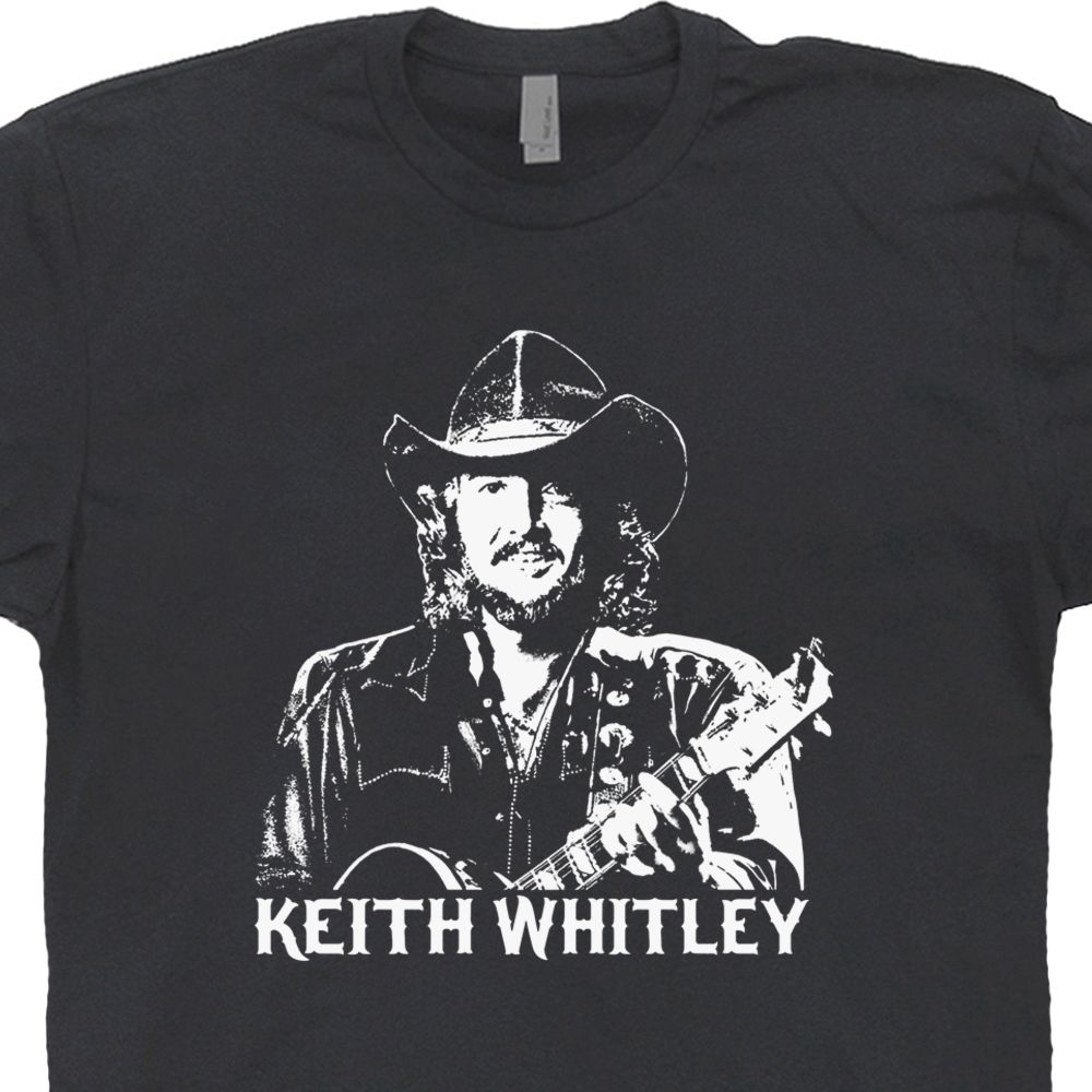 3ee1be035 Keith Whitley T Shirt | Vintage Country Music Tee