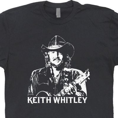 Keith Whitley T Shirt Classic Country Music Tee