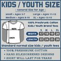 Kids / Youth Giant Octopus T Shirt Cool Sea Monster T Shirt