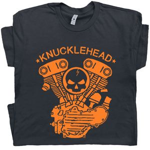 Knucklehead Engine T Shirt Harley Davidson Tee