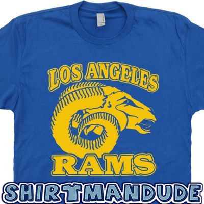 Los Angeles Rams T Shirt Vintage Logo