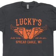 Lucky's Custom Motorcycles T Shirt