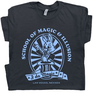 Magician T Shirt Las Vegas Magic Scool
