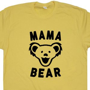 Mama Bear T Shirt Grateful Dead T Shirt Dancing Bears
