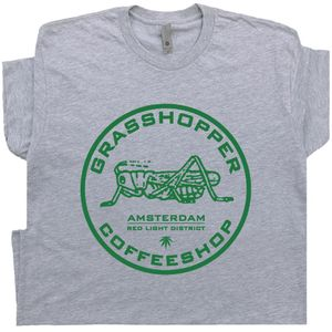 Grasshopper Amsterdam Marijuana Cafe Shirt