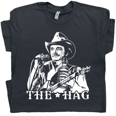 Merle Haggard T Shirt The Hag Outlaw Country