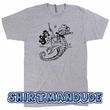Mermaid T Shirt Vintage Mermaid Seahorse Shirt Cool Mermaid Graphic Tee