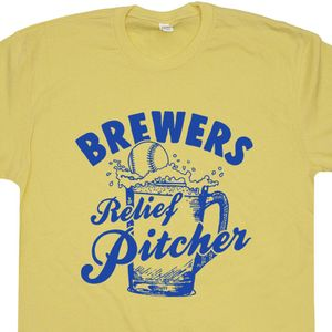Milwaukee Brewers Relief Pitcher T Shirt