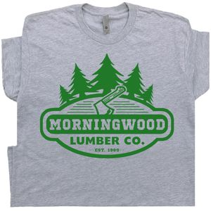 Morningwood Lumber T Shirt Funny Offensive Tee