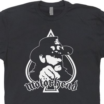 Motorhead T Shirt Lemmy Kilmister Shirt 80s Vintage Rock Band Tees