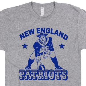 New England Patriots Retro Logo T Shirt
