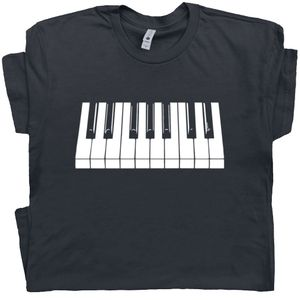 Piano T Shirt Keyboard Tee