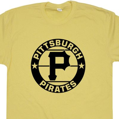 Pittsburgh Pirates Vintage Logo T Shirt