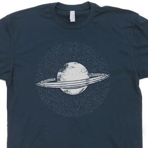 Planet Saturn T Shirt Vintage Nasa T Shirt Cool Geek T Shirts Universe