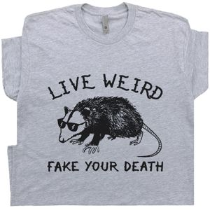 Live Weird Possum