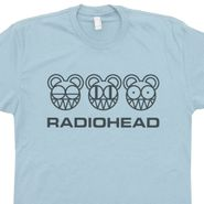 Radiohead T Shirt 90s Rock Graphic
