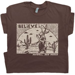 Roswell Jackalope T Shirt New Mexico UFO Tee