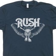 Rush T Shirt Vintage Band Shirts Owl Tee Shirt