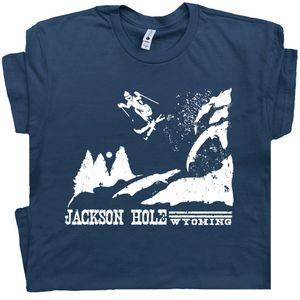 Ski Jackson Hole Wyoming T Shirt