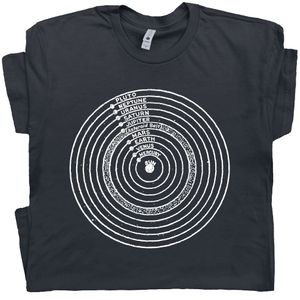 Solar System T Shirt Universe Tee