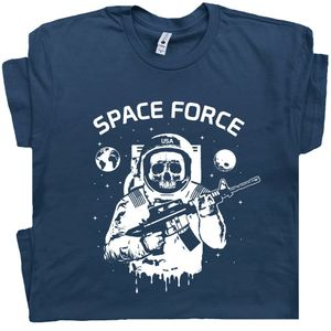 Space Force T Shirt Astronaut
