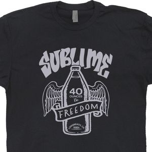 Sublime T Shirt 40 oz to Freedom Tee Shirt Graphic