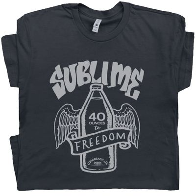 Sublime T Shirt 40 oz to Freedom Tee