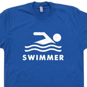 Swimming Logo T Shirt Swimmer T Shirt US Olympic Swim Team T Shirt