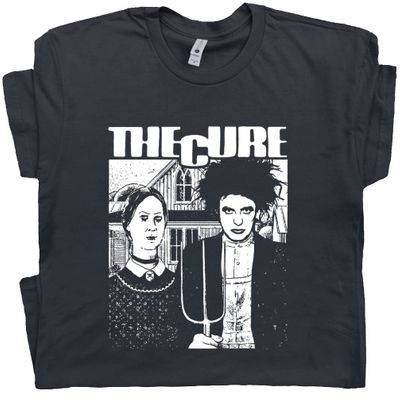 The Cure T Shirt 80s Vintage Rock Tee