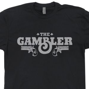 The Gambler T Shirt Vintage Las Vegas Shirt Cool Poker Shirt Texas Hold Em