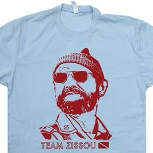 The Life Aquatic T Shirt Bill Murray Team Zissou