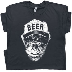 The Wolfman T Shirt Funny Beer Shirt