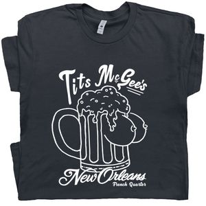 Tits McGee T Shirt New Orleans Bar Tee