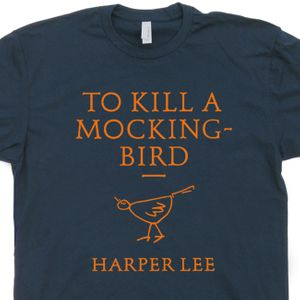 To Kill a Mockingbird T Shirt Vintage Literature Shirts Cool Book T Shirt