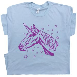 Unicorn T Shirt Vintage Graphic Tee