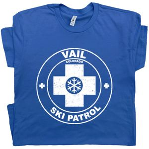 Vail Colorado Ski Patrol T Shirt