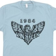 Van Halen T Shirt Vintage Rock T Shirts Cool 80s Band Graphic Tee