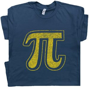 Pi Symbol T Shirt Cool Math Tee