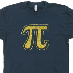 Vintage Pi Symbol T Shirt Cool Math Shirt Funny Geek T Shirt Pie Symbol
