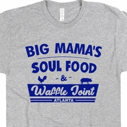 Vintage Soul Food T Shirt Atlanta Restaurant Waffle House Shirts Roscoes Chicken and Waffles Big Mama's