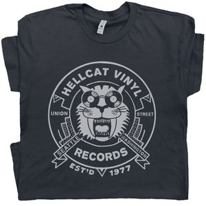 Seattle Record Store T Shirt Vintage Vinyl Tee