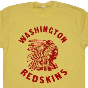 Washington Redskins T Shirt Vintage Redskins Logo Tee