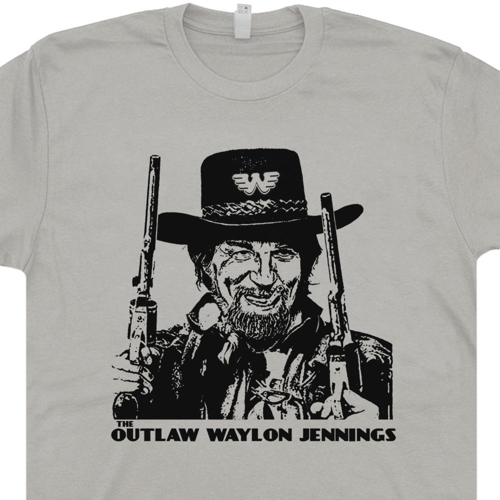 f4c837a7 Waylon Jennings T Shirt | Vintage Country Music Shirts | Outlaw
