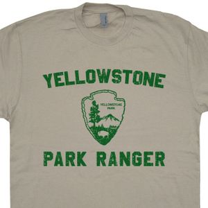 Yellowstone park Shirt Park Ranger T Shirt Hiking T Shirt Funny Camping Tee