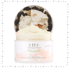 Big Bare® Organic Whipped Shea Butter Body Polish