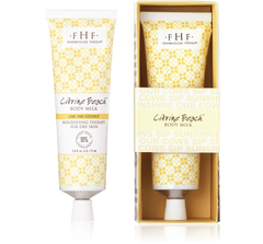 Citrine Beach® Body Milk Travel Lotion
