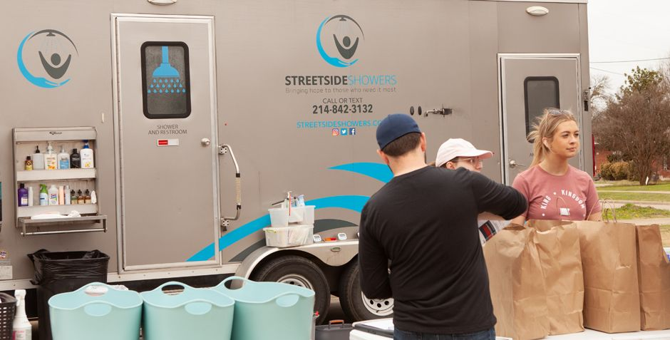 STREETSIDE SHOWERS; HELPING BRING DIGNITY TO OTHERS