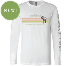 FarmHouse Fresh® Donation Long Sleeve T-Shirt - White